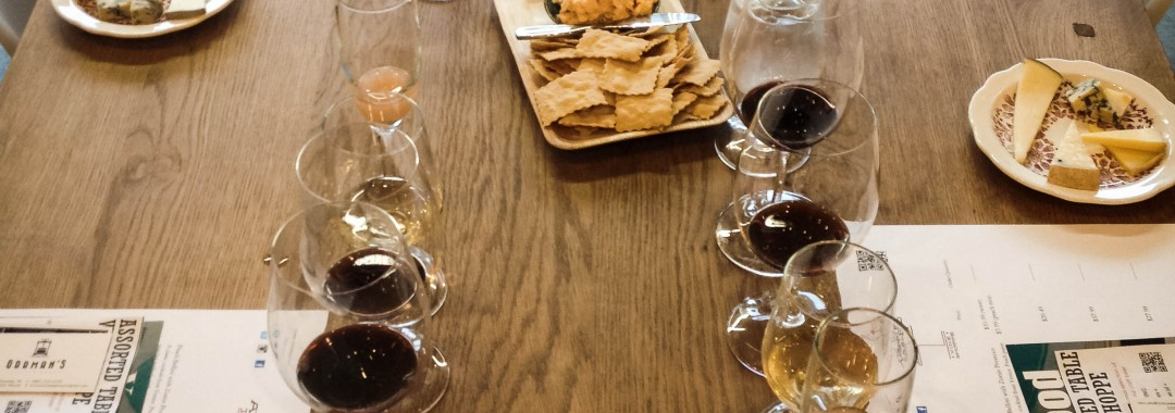 Assorted Table Wine Shoppe Wine and Cheese Pairings with Orrman's Cheese Shop