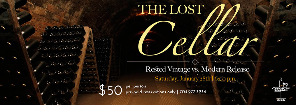 The Lost Cellar – January 28
