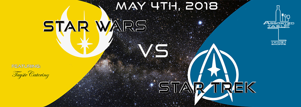 Star Wars vs Star Trek Dinner – May 4