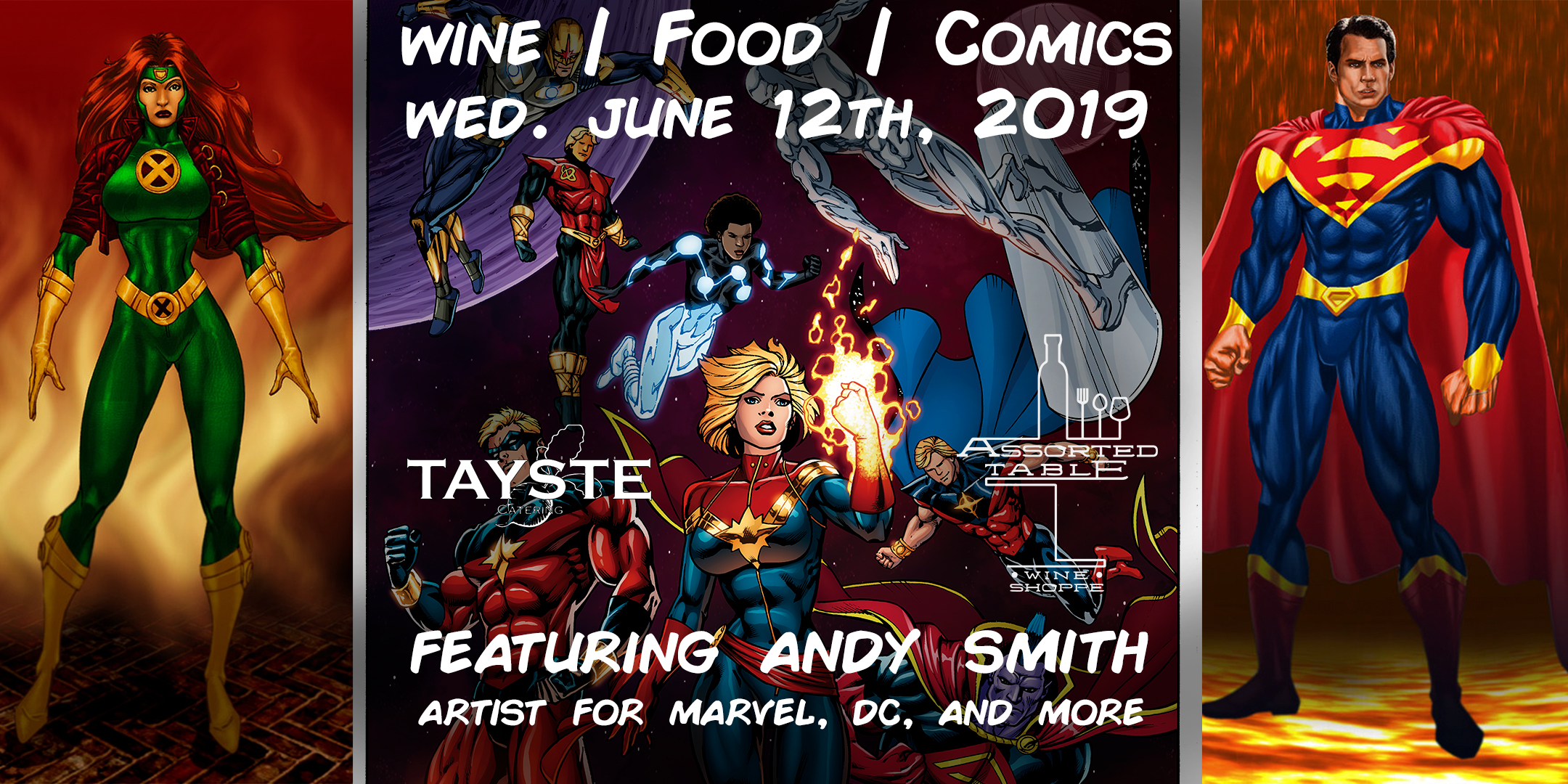 WINE | FOOD | COMICS
